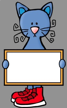 Cats In The Classroom #1 Clip Art (48 graphics) Whimsy Workshop Teaching