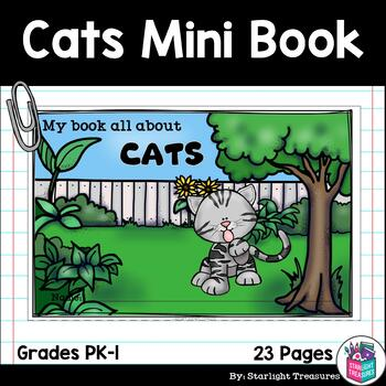 Cats Mini Book for Early Readers