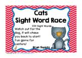 Cats Sight Word Race