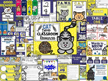 Cats Theme Decor Pack