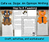 Cats Vs. Dogs: An Opinion Writing on the Best Kind of Pet