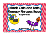 Cats and Bats Sight Word Fluency Phrases Race