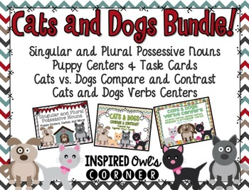 Cats and Dogs ELA Bundle