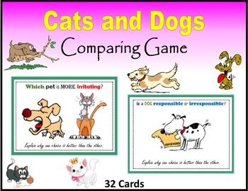 Cats and Dogs (Comparing Game)