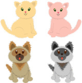 Cats and Dogs Poem - Fun, Catchy Childrens' Animals Pets P