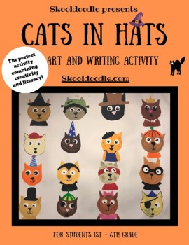 Cats in Hats Art and Literacy Lesson