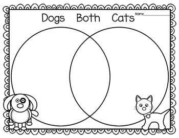 Cats and  Dogs Compare and Contrast, Vocab, and Writing