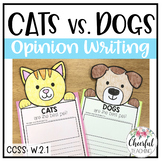 Cats vs. Dogs Opinion Writing