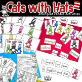 Cats with Hats!  Emergent Reader Activities