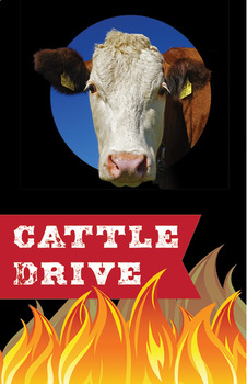 Cattle Drive: High Interest Story | Non-fiction, Comprehension