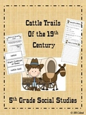 Cattle Drives-5th Grade Social Studies