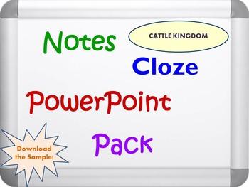 Cattle Kingdom Pack (PPT, DOC, PDF)