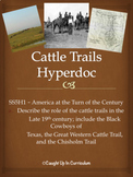 Cattle Trails Hyperdoc GSE SS5H1a