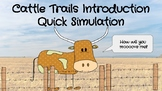 Cattle Trails Introduction Simulation