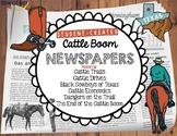 Cattle Trails and Cowboys Newspapers