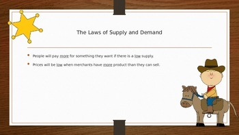 Cattle Trails and Supply and Demand