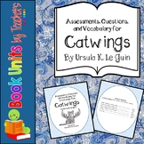 Catwings Assessment, Questions, and Vocabulary