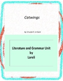 Catwings Literature and Grammar Unit