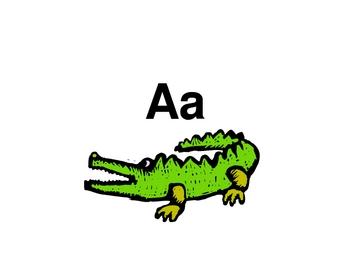 Caudills Alphabet PowerPoint