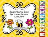 """Caught """"Bee""""ing Good! Bee Themed Clip Chart, Editable Behavior Log, and Letter!"""