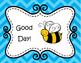 "Caught ""Bee""ing Good! Bee Themed Clip Chart, Editable Beha"