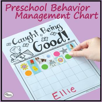 """Caught Being Good"" Behavior Management Chart"