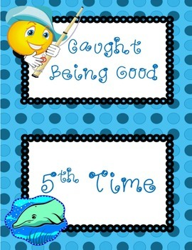 Caught Being Good Positive Behavior Chart