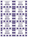Caught Being Good Punch Cards