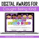Kindness Certificates Teaching Resources Teachers Pay Teachers