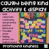 Caught Being Kind - Community Building Activity