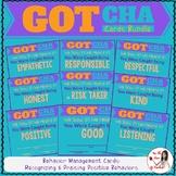 Behavior Management Cards: Caught Being... BUNDLE