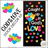 Caught Up In God's Love Classroom Door Decor Kit/Christian