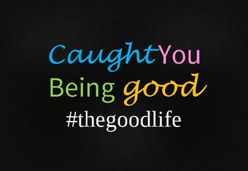 Caught You Being Good Poster 2