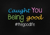 Caught You Being Good Poster 3
