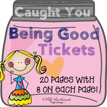 Brag Tags/Caught You Being Good Tickets