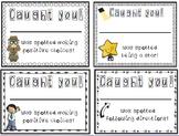 Caught You Positive Behavior Certificates Good Behavior Re
