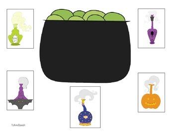 Cauldron Bubble! A Reinforcement Game (English)