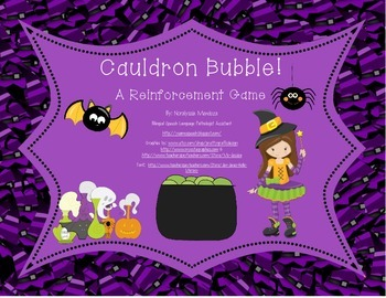 Cauldron Bubble! A Reinforcement Game (Spanish)