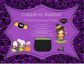 Cauldron Bubble! A Reinforcement Game (Spanish)