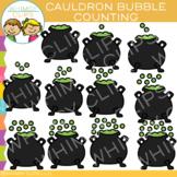 Cauldron Bubble Counting Clip Art