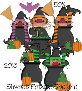 Cauldron Witches