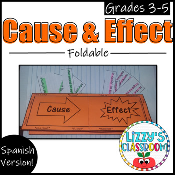 Cause and Effect Foldable *Spanish*