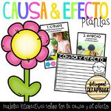 Causa y Efecto de Plantas (Plants Cause and Effect Task Cards)