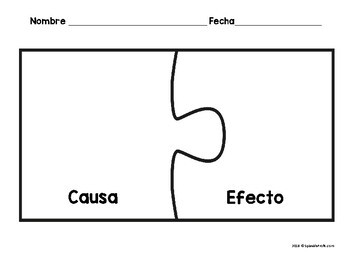 Causa y efecto (Cause and effect in Spanish Activities)