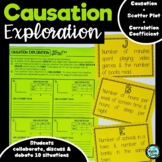 Causation Exploration Activity (Correlation vs Causation)