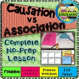 Causation vs Association (Correlation) Foldable, Activity,
