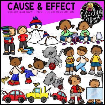 Cause And Effect Clip Art Bundle {Educlips Clipart}