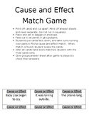 Cause-And-Effect Match Game