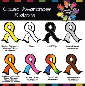 Cause Awareness Ribbons