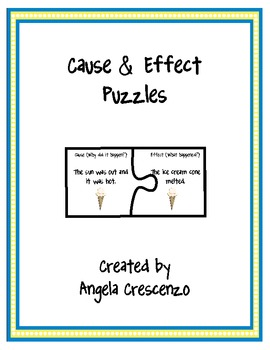 Cause & Effect 2 Piece Puzzles
